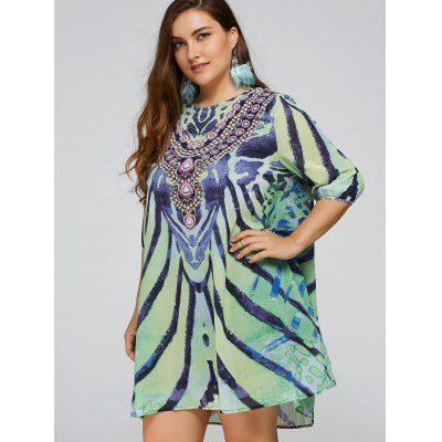 cool-plus-size-african-print-dress