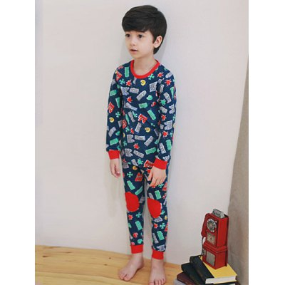 Kids Cartoon Print  Long Sleeve PajamasGirls Clothing<br>Kids Cartoon Print  Long Sleeve Pajamas<br><br>Type: Pajamas sets<br>Material: Polyester<br>Sleeve Length: Long Sleeves<br>Pattern Type: Character<br>Season: Fall,Spring,Winter<br>Weight: 0.300kg<br>Package Contents: 1 x T-Shirt   1 x Pants