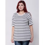 Drop Shoulder Striped T-Shirt deal