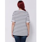 best Drop Shoulder Striped T-Shirt