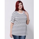 Drop Shoulder Striped T-Shirt for sale