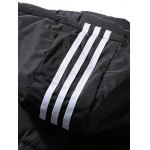 Puffer Stripe Trim Hooded Vest for sale
