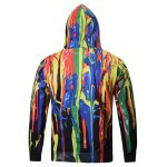cheap Colorful Paint Dripping Hoodie