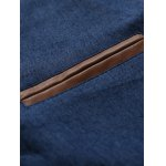 Leather Trim Breast Pocket Button Up Shirt deal