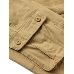 best Zipper Fly Straight Leg Pockets Embellished Cargo Pants