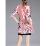 Chinese Style Embroidery Trench Coat for sale