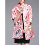 cheap Chinese Style Embroidery Trench Coat