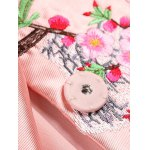 best Chinese Style Embroidery Trench Coat