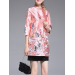 Chinese Style Embroidery Trench Coat deal