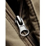 Zipper Fly Straight Leg Plastic Buckle Thicken Cargo Pants for sale