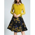 cheap Ribbed Openwork Slimming Knitwear