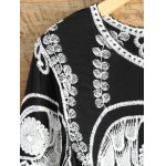 A Line Owl Embroidered Top deal
