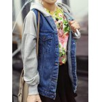 Relaxed Hooded Denim Jacket