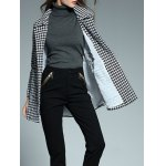 best Double Breasted Houndstooth Coat