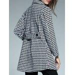 Double Breasted Houndstooth Coat photo