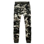 Camouflage Drawstring Long Sleeve Active Suit (Jacket with Pants) deal
