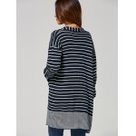 best Open-Front Striped Cardigan