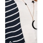 Open-Front Striped Cardigan photo