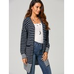 Open-Front Striped Cardigan for sale