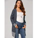 Open-Front Striped Cardigan deal