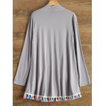 best Long Sleeve Fringes Cardigan