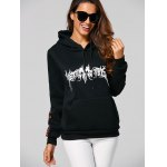 cheap Streetwear Loose Printed Thick Hoodie