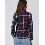 Checked Slimming Shirt for sale