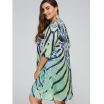 Cool Plus Size African Print Swing Dress for sale