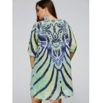 best Cool Plus Size African Style Print Swing Dress