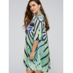 Cool Plus Size African Print Dress deal