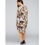 best Plus Size Buildings Cocoon Dress with Pocket