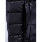 Stand Collar Zip-Up Quilted Jacket photo