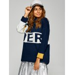 Active Inverse Letter Red Pattern Sweater deal