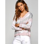 Active V Neck Camouflage Sweater deal