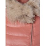 Faux Fur Collar Puffer Jacket deal