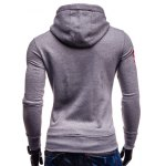 Mainland Printed Color Block Pullover Hoodie deal
