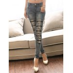 cheap Ripped Torn Jeans for Women