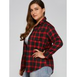 Checked Plus Size Shirt deal