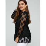 Plus Size Lace Tunic Top deal