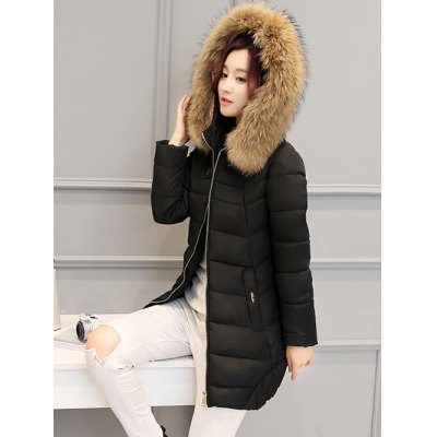 Asymmetrical Hooded Padded CoatJackets &amp; Coats<br>Asymmetrical Hooded Padded Coat<br><br>Clothes Type: Padded<br>Material: Polyester<br>Type: Slim<br>Clothing Length: Long<br>Sleeve Length: Full<br>Collar: Hooded<br>Pattern Type: Solid<br>Embellishment: Pockets<br>Style: Fashion<br>Season: Winter<br>Weight: 1.050kg<br>Package Contents: 1 x Coat
