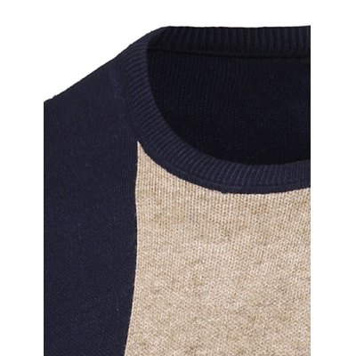 Color Matching Long Sleeve Crew Neck SweaterMens Sweaters &amp; Cardigans<br>Color Matching Long Sleeve Crew Neck Sweater<br><br>Type: Pullovers<br>Material: Polyester<br>Sleeve Length: Full<br>Collar: Crew Neck<br>Technics: Computer Knitted<br>Style: Fashion<br>Weight: 0.550kg<br>Package Contents: 1 x Sweater