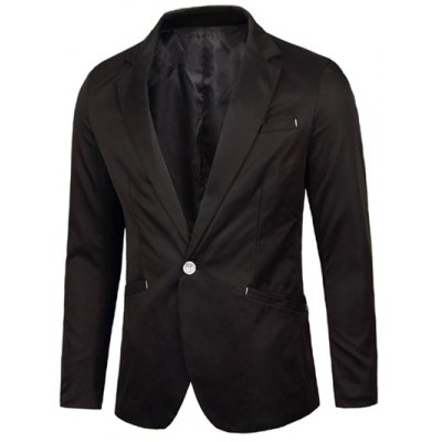 Нотч One-Button Blazer