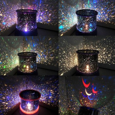 Starry Star Master Gift Led Unique Design Projector Multi Colors Night Light