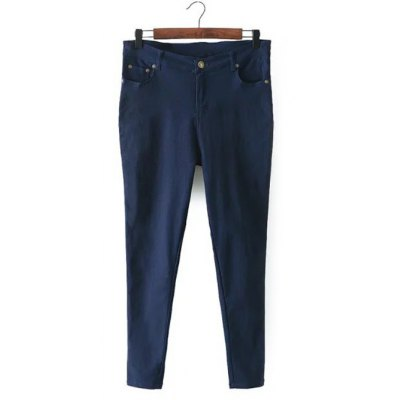 Zip Fly Pockets Jeans