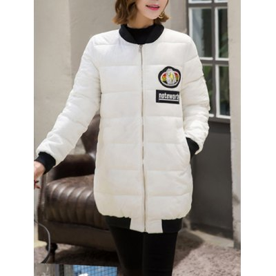 Patch Padded Puffer Coat