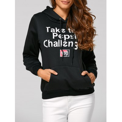Letter Casual Hoodie