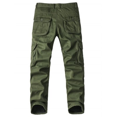 Zipper Fly Pockets Embellished Straight Leg Fleece Cargo PantsPlus Size Bottoms<br>Zipper Fly Pockets Embellished Straight Leg Fleece Cargo Pants<br><br>Style: Fashion<br>Pant Style: Cargo Pants<br>Pant Length: Long Pants<br>Material: Cotton,Polyester<br>Fit Type: Regular<br>Front Style: Pleated<br>Closure Type: Zipper Fly<br>Waist Type: Mid<br>With Belt: No<br>Weight: 0.864kg<br>Package Contents: 1 x Cargo Pants