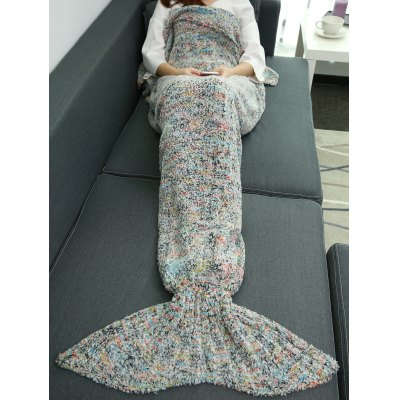 Super Soft Plush Throw Sofa Bedding Wrap Mermaid Blanket