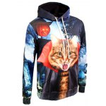 cheap 3D Print Kangaroo Pocket Hallowmas Hoodie