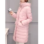 Long Hooded Padded Coat deal